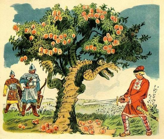 картинка ивана и чудо юдо русские сказки редчайший случай