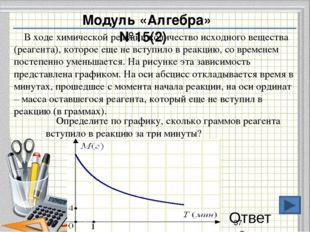 Модуль «Алгебра» № 20.Решите самостоятельно Ответ : Решение: Центростремител