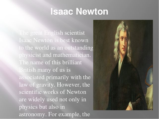 isaac newton notecard project essay College essay writing service learning reflection essay: a short (2 page) essay summarizing:purchase the answer to view it  phd isaac newton/501re.