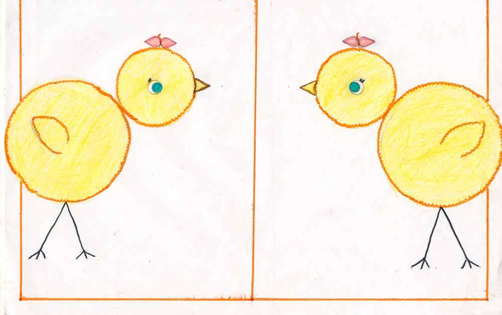 Как нарисовать чику и фокси картинки престижный