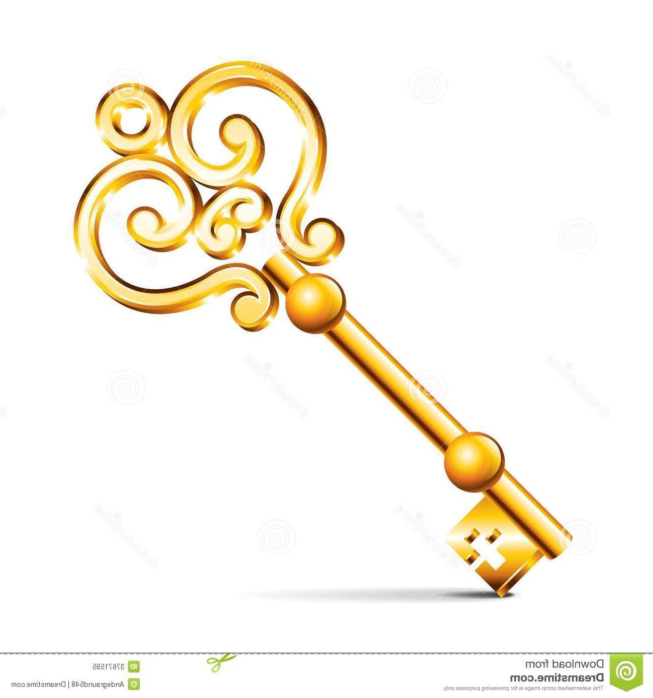 Сказочный ключ своими руками