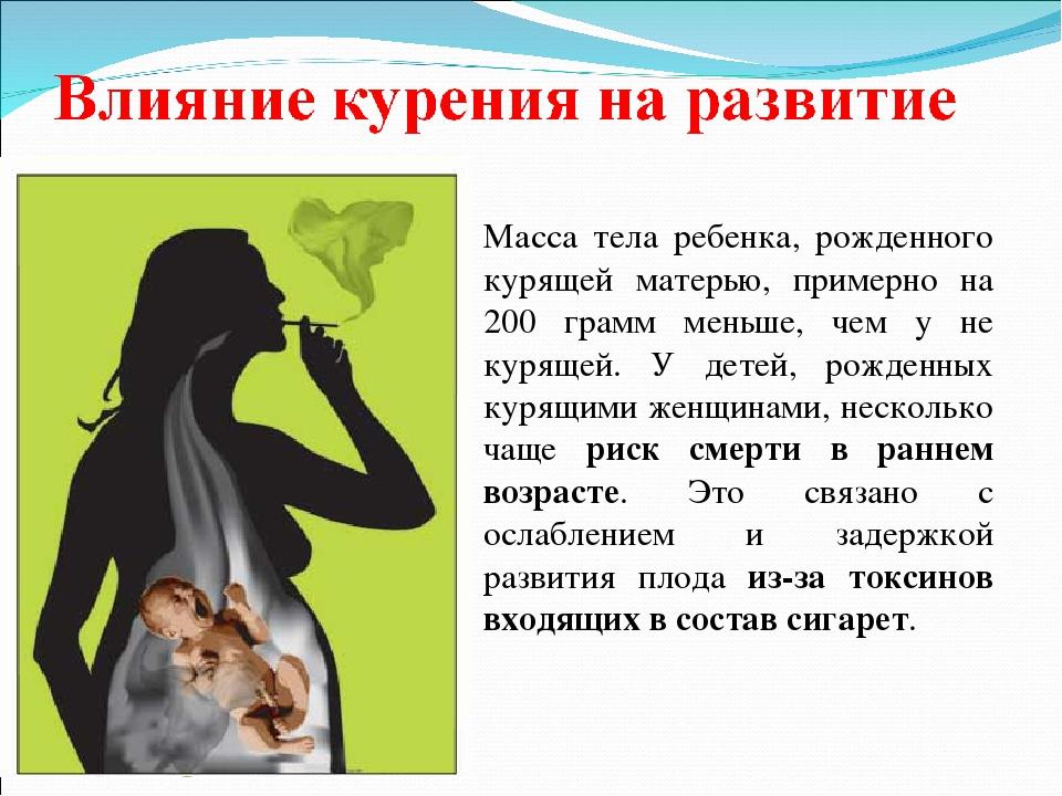 информация о вреде курения с картинками без