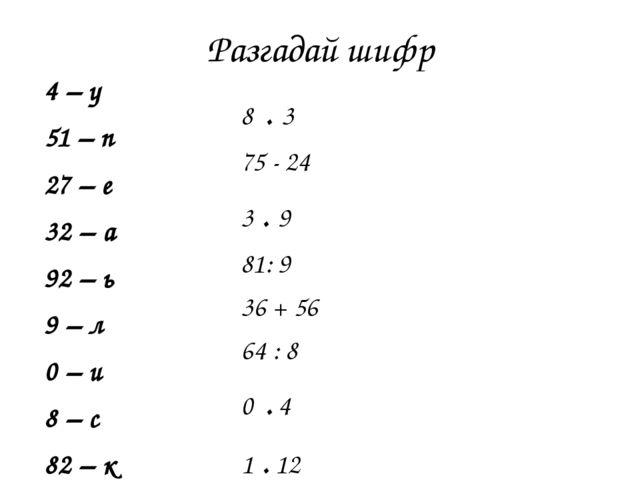 Конспект урока по математике 3 класс демидова доли