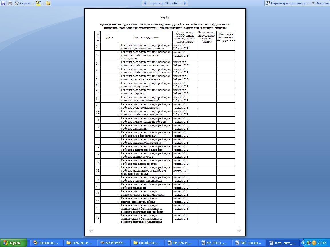 МЕТОДИЧЕСКИЕ РЕКОМЕНДАЦИИ ПО ПРОХОЖДЕНИЮ ПРОИЗВОДСТВЕННОЙ ПРАКТИКИ  hello html m5fc19a09 png