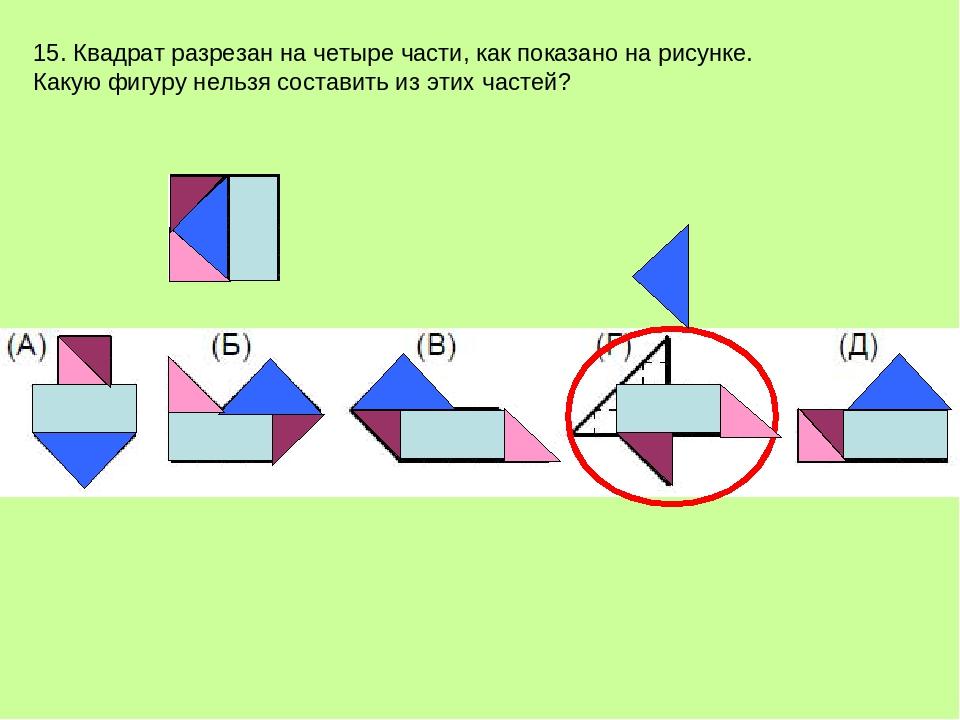 показать на рисунке части компаса