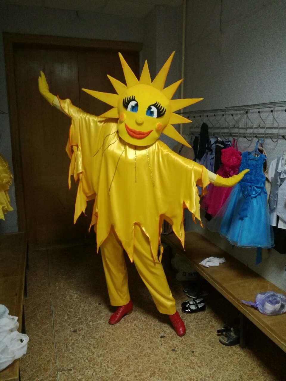 Сделать своими руками костюм солнца