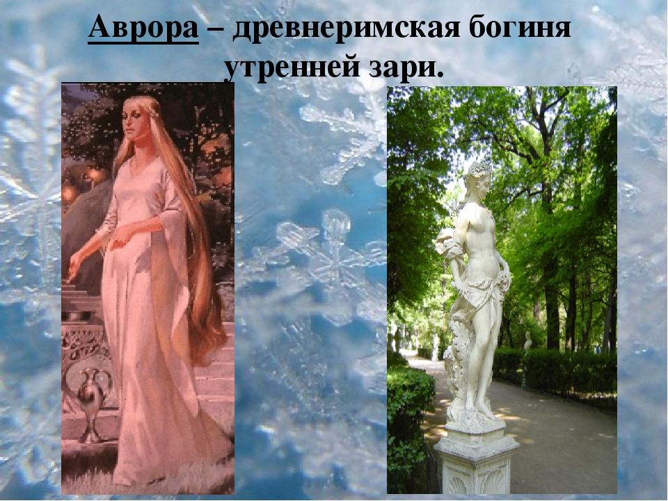 много богиня аврора фото сумел успокоить жену