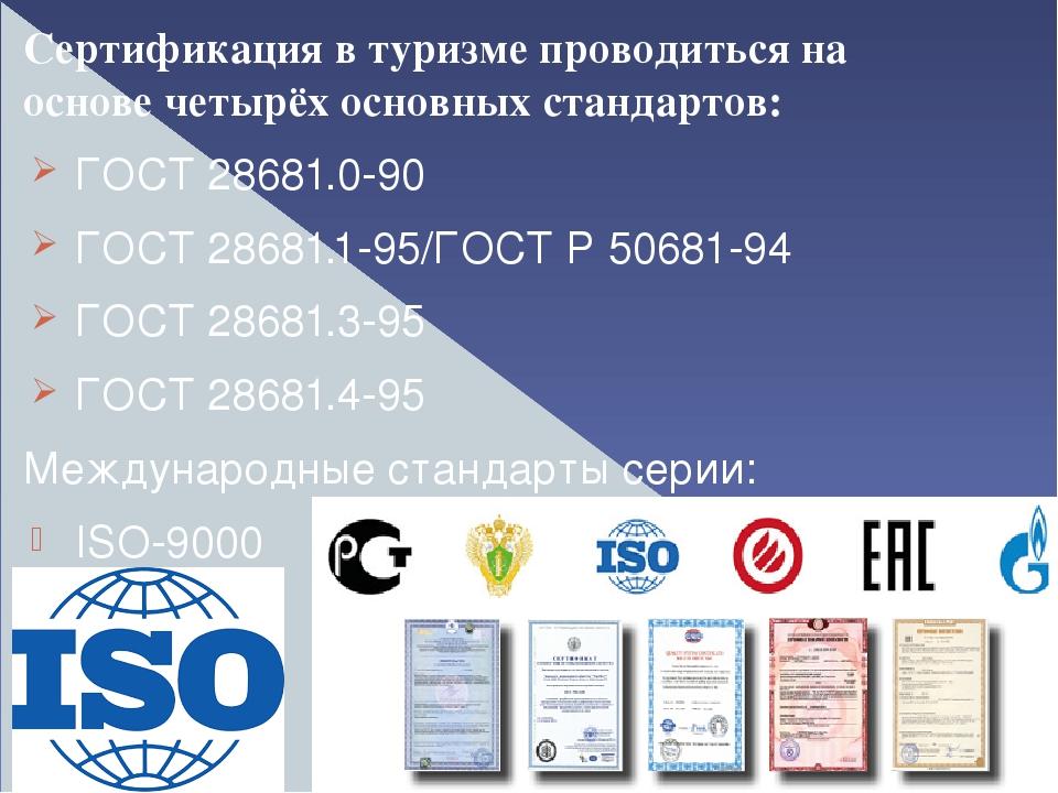 Сертификация квалификаций в туризме сертификация смк по оборонному заказу