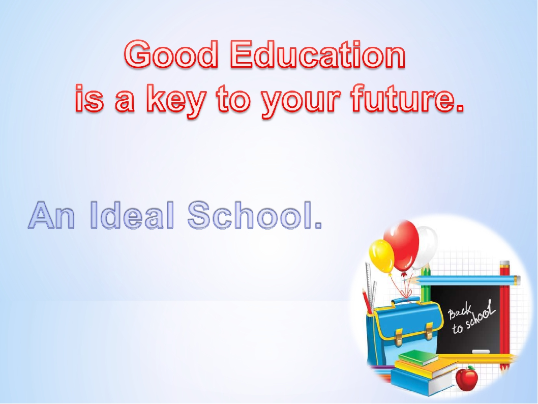 education is the key to your Free essay: about 20 years ago, education was something that a person did only if he/she wanted to unfortunately, as the years went by, the idea of.