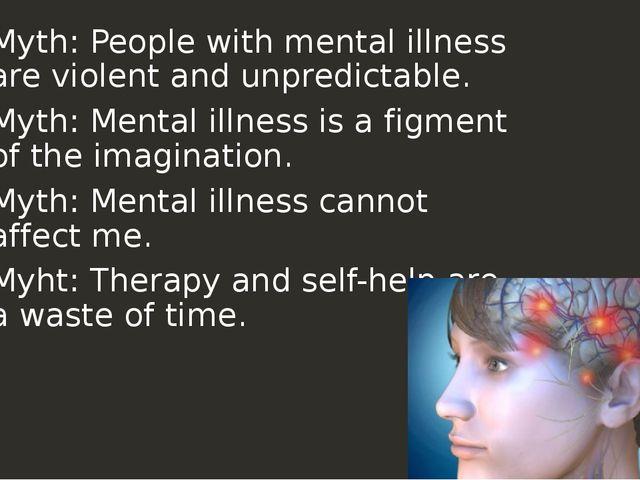 topic the myth of mental illness essay We will write a cheap essay sample on mental illness as a social construct: analysis of thomas szasz's the myth of mental illness what is your topic.
