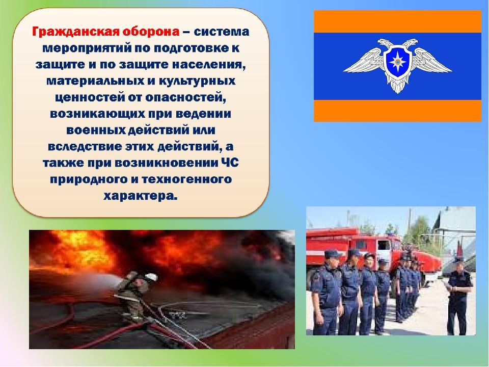 день гражданской обороны россии презентация