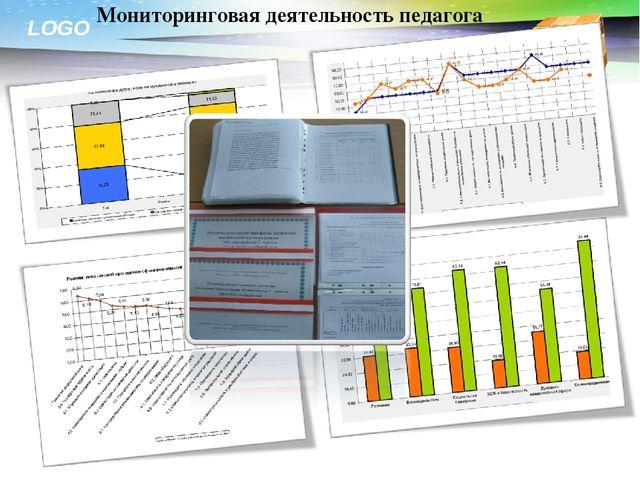 Мониторинговая деятельность педагога LOGO