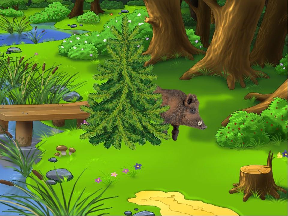 Игра с животными картинки