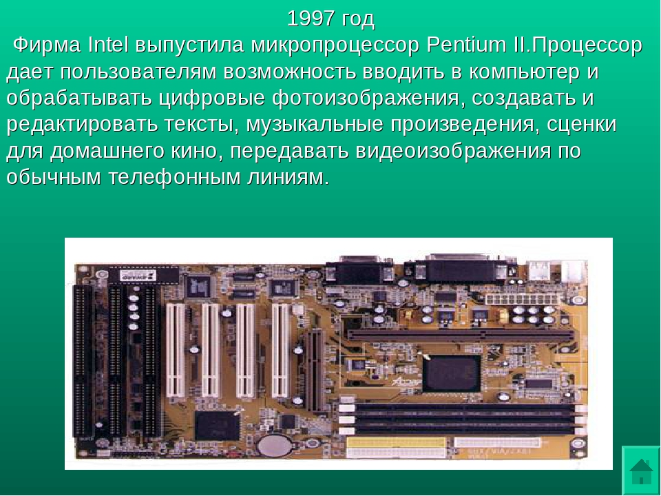 the development and evolution of the microprocessor