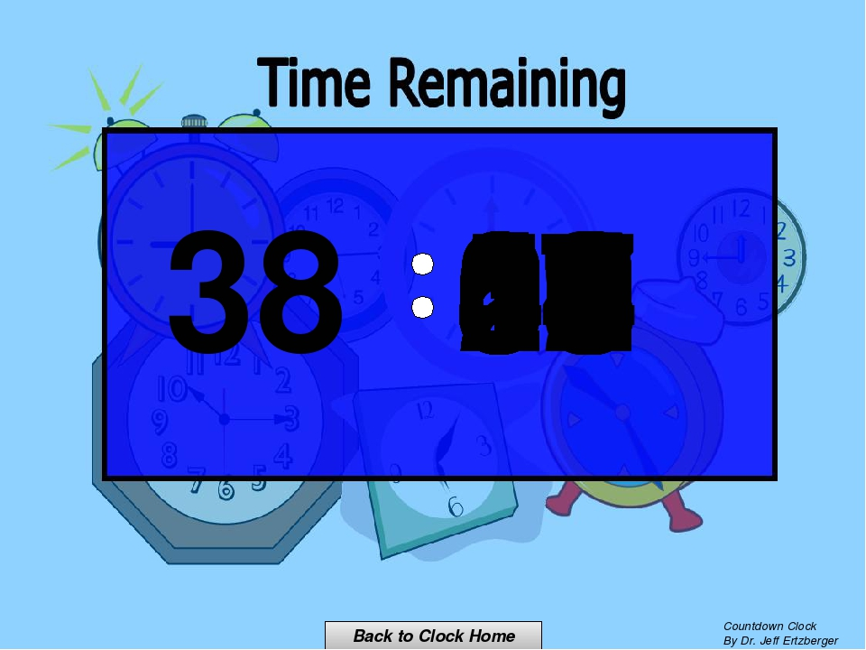 00 15 14 13 12 11 10 09 08 07 06 05 04 03 02 01 00 Back to Clock Home Countdo...