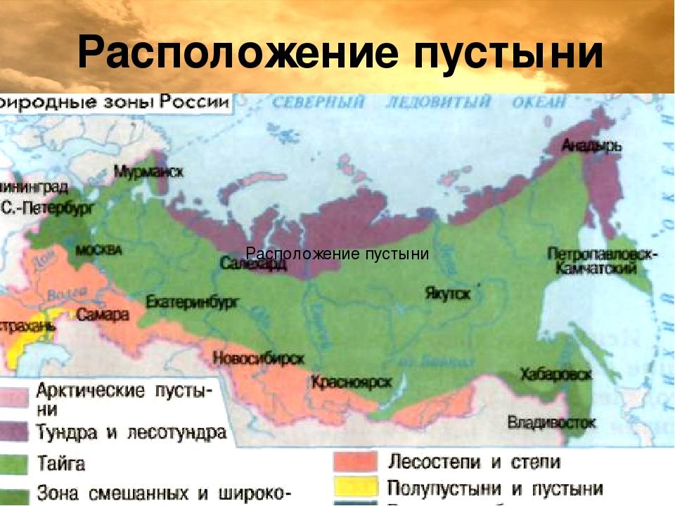 Полупустыни в россии географическое положение