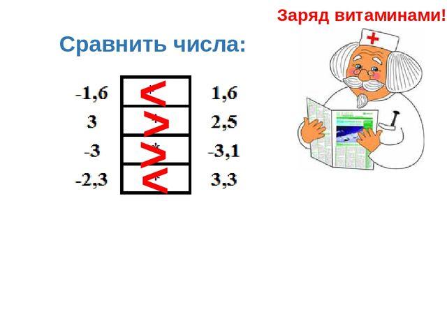 Сравнение чисел и величин конспект урока