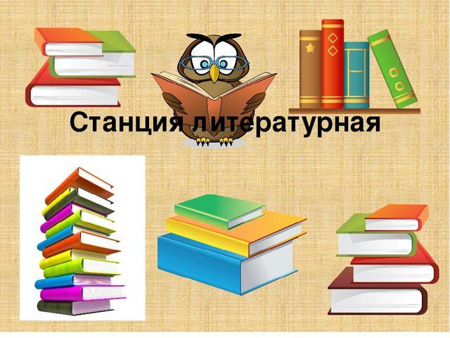 Станция литературная
