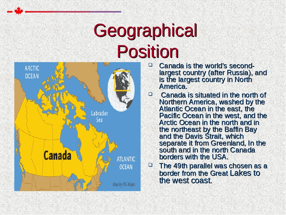 an overview of the second largest country in the world canada As second-largest country in the world, canada is known to have the most lenient immigration policies every year, the government of canada allows and helps in admitting more than 200,000 immigrants from different countries from around the world.