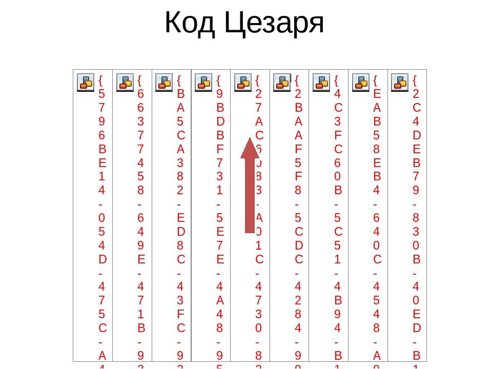 Код Цезаря
