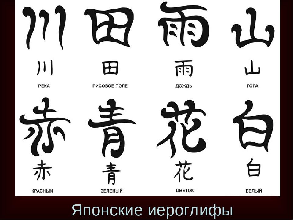 картинки китайских знаков и их обозначения прибрежные воды