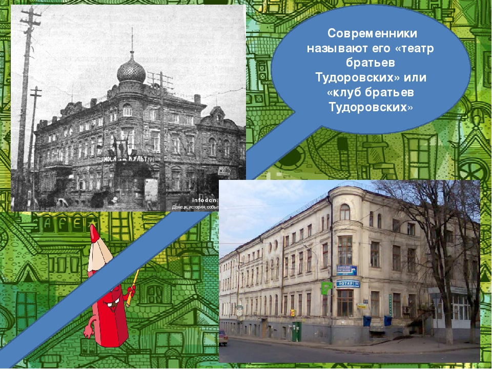 Современники называют его «театр братьев Тудоровских» или «клуб братьев Тудо...