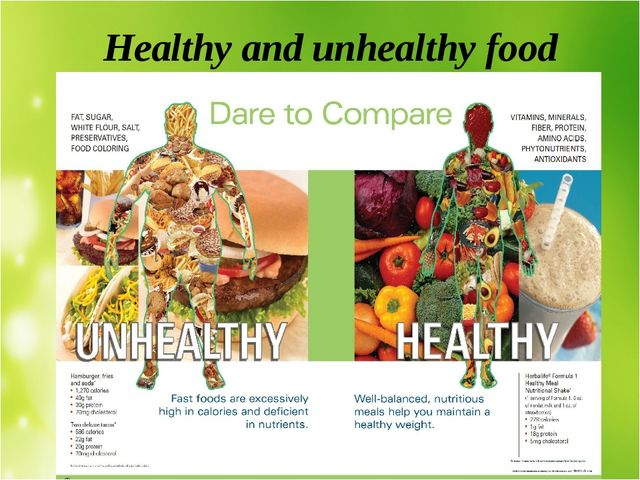 essay about food and health
