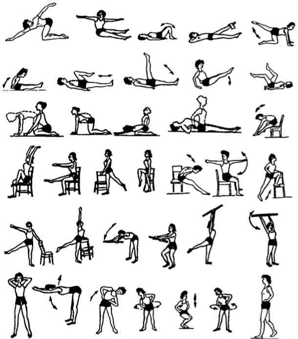 Упражнения для лечения артроза шейного позвоночника