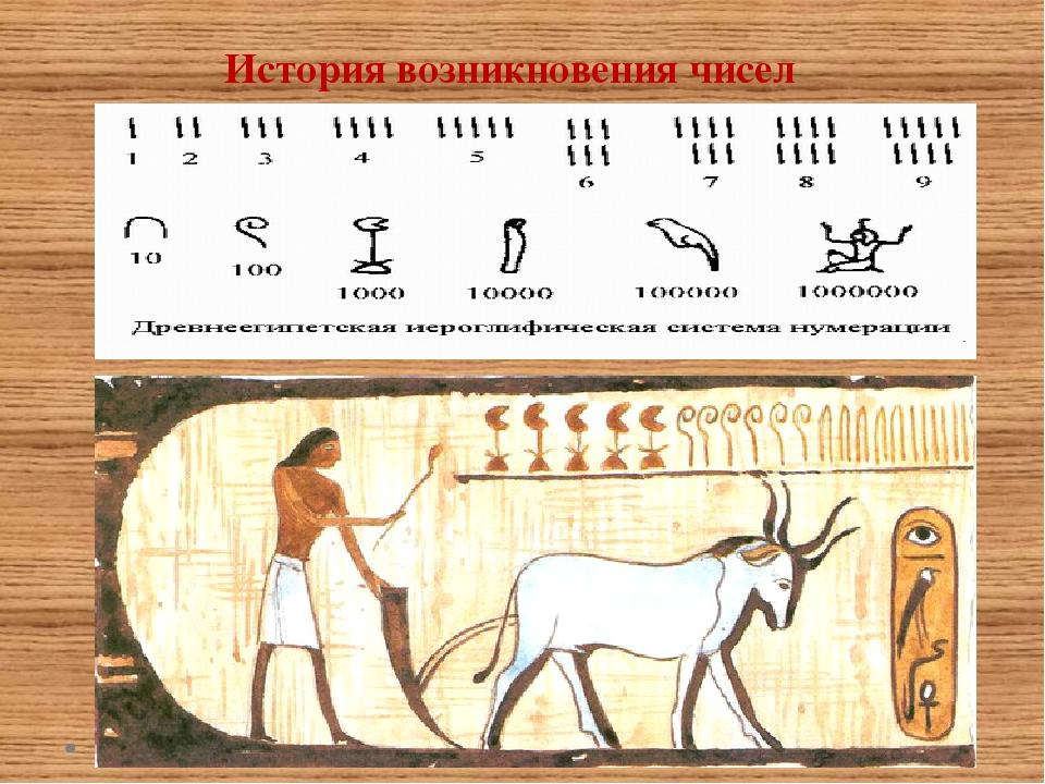 История чисел картинки