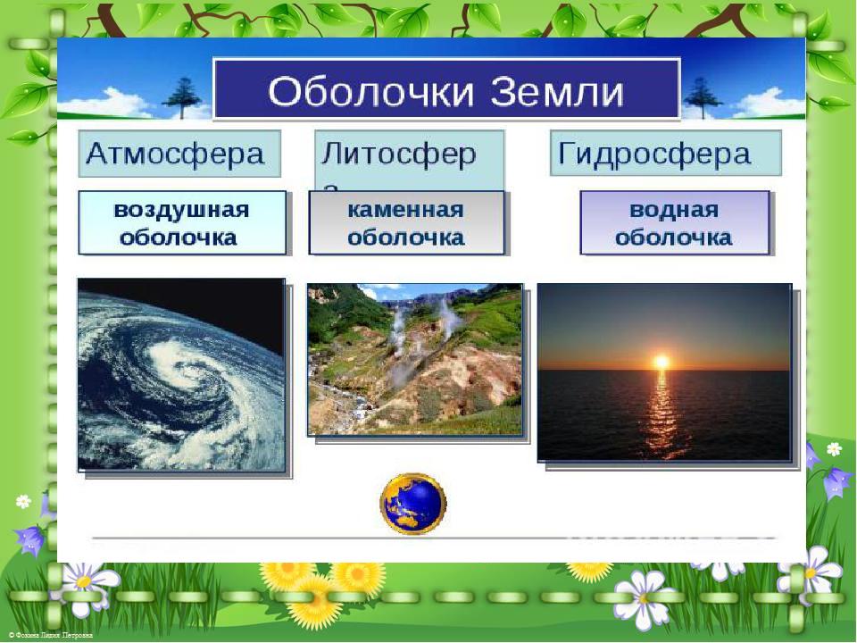 Презентация на тему живая оболочка земли (5 класс)