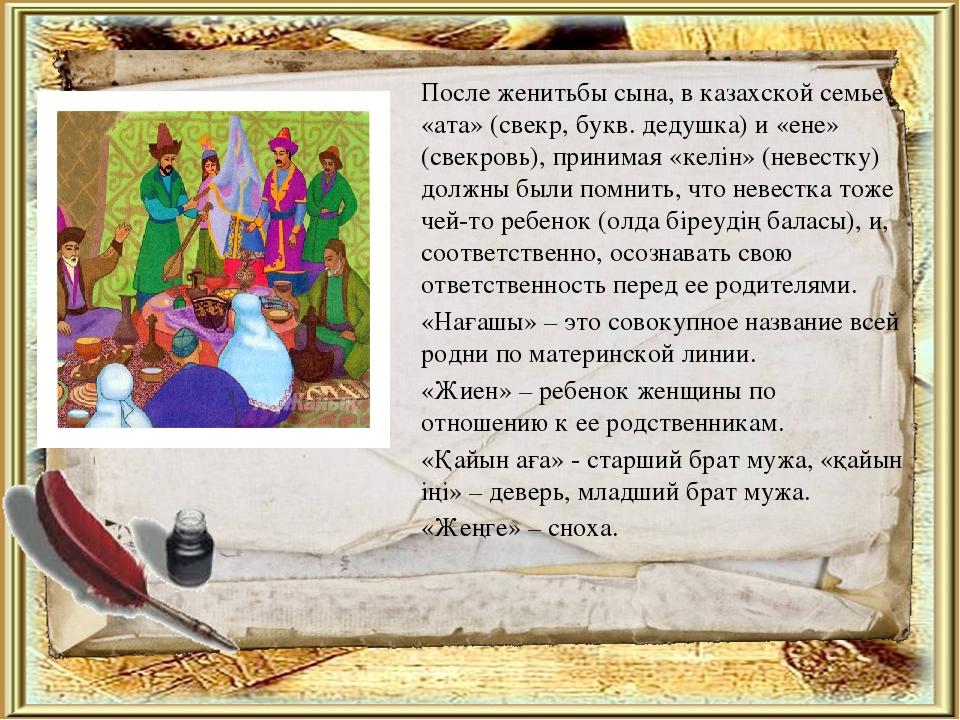 Имя сыночка на казахском