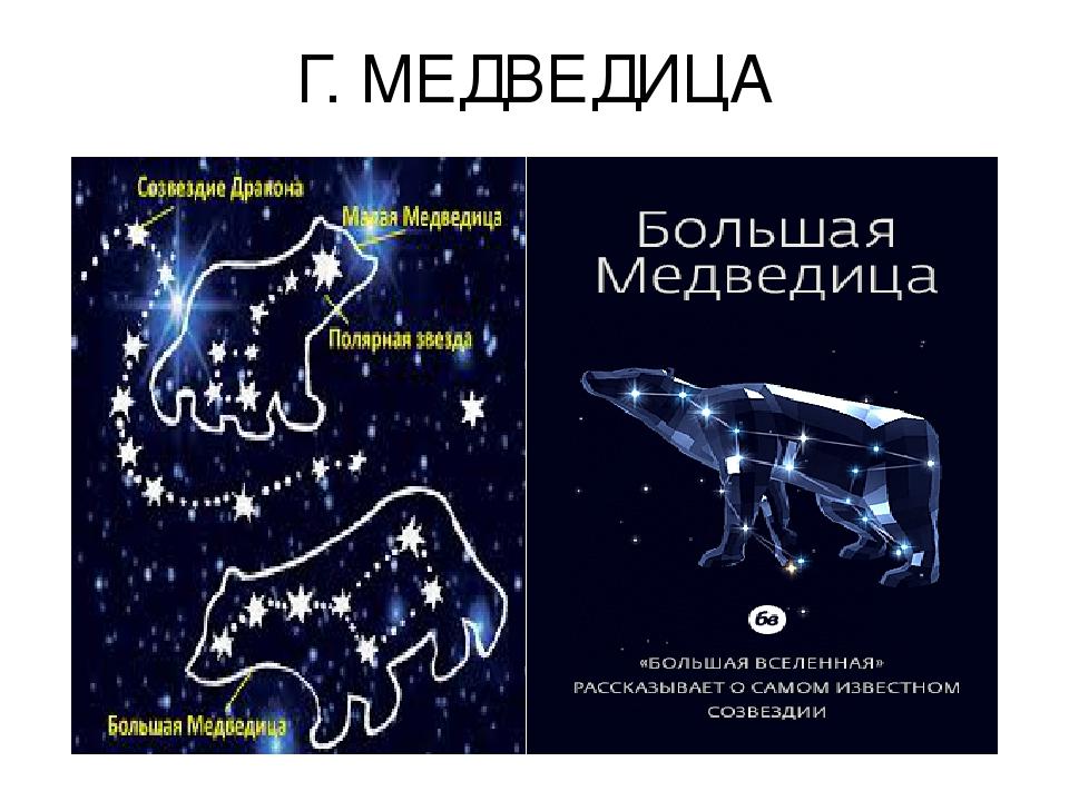 Г. МЕДВЕДИЦА