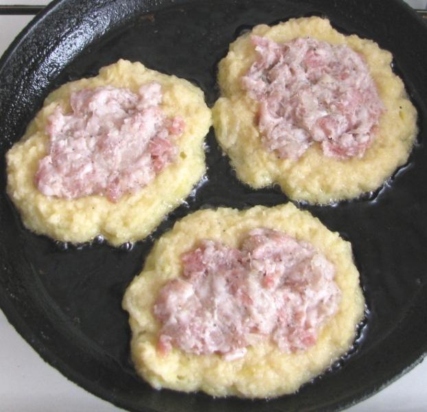 рецепт драники с мясом пошагово с фото