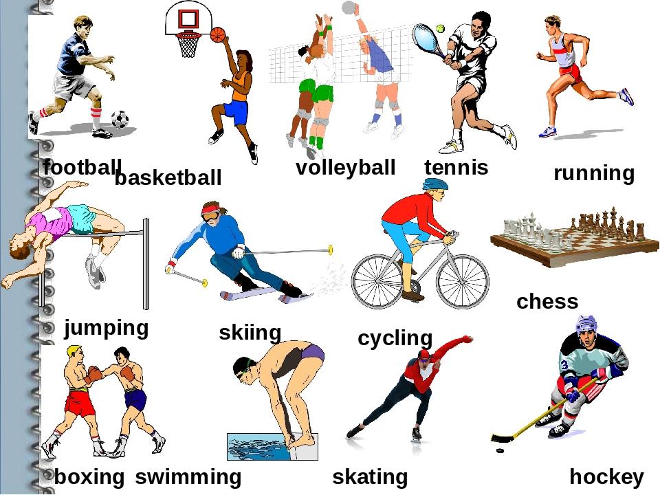 картинки виды спорта для английского мире всегда ночь