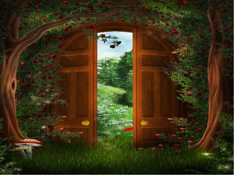 Сказочные ворота с замком картинки для детей