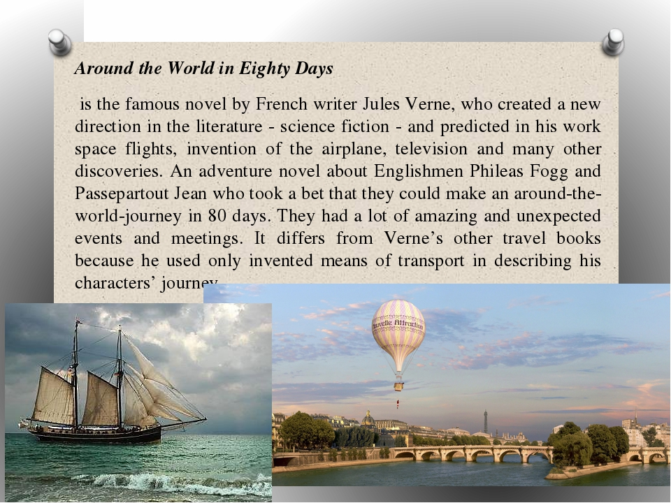 an analysis of around the world in eighty days a novel by jules verne
