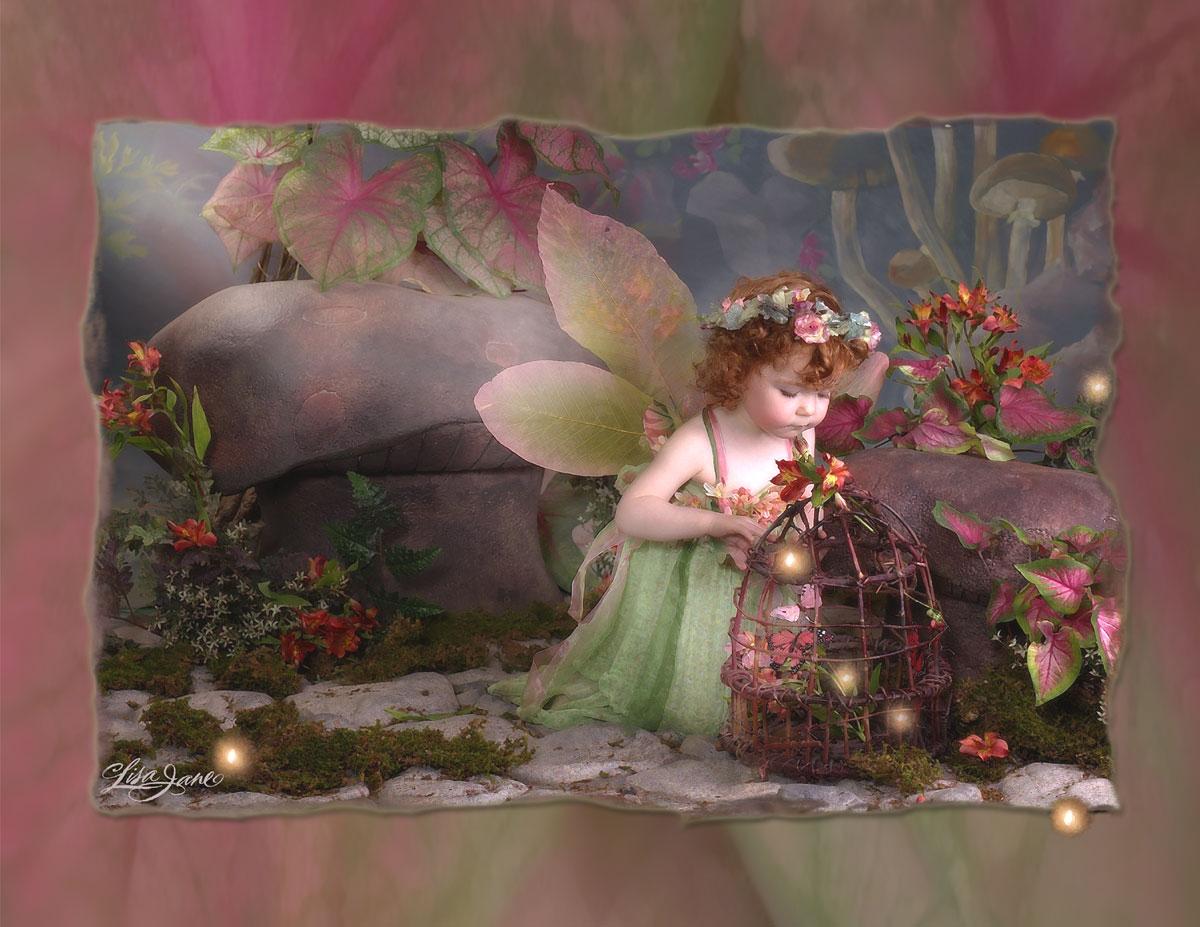 Картинки фэнтези сказочное утро с пожеланием
