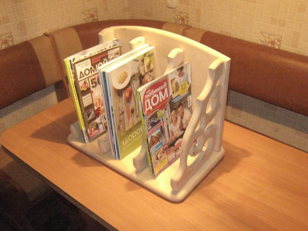 Подставку для журналов своими руками