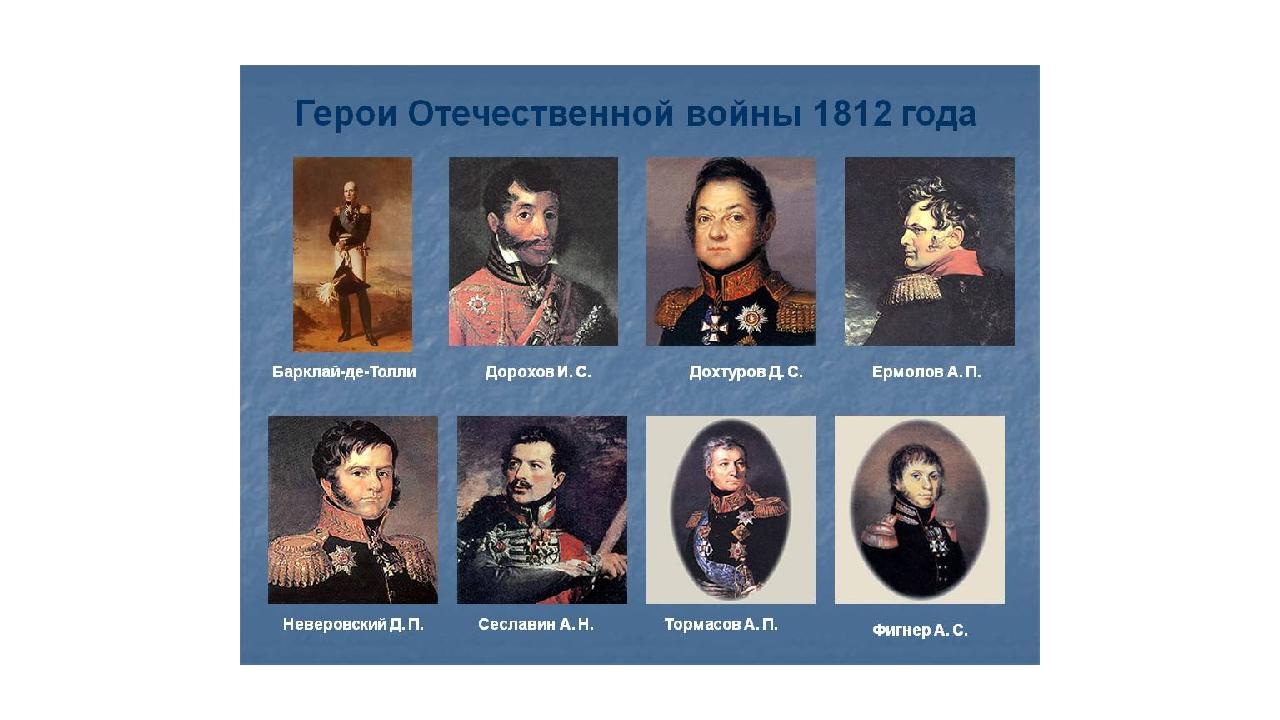 Отечественная война 1812 картинки для презентации, приездом