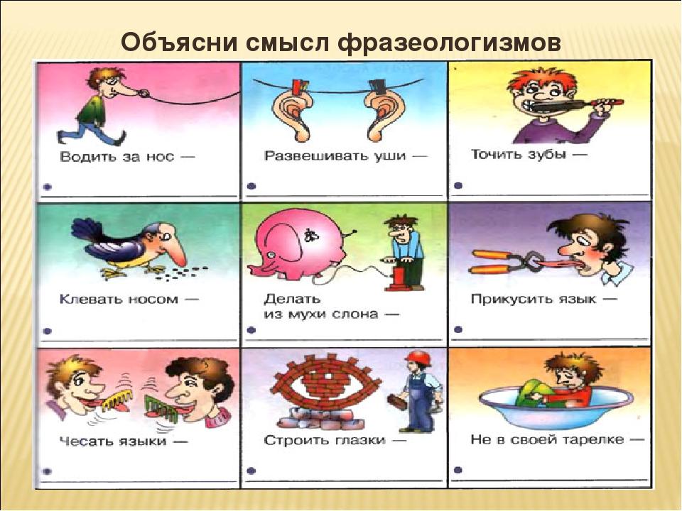 фразеологизмы примеры и картинки дисциплинируют