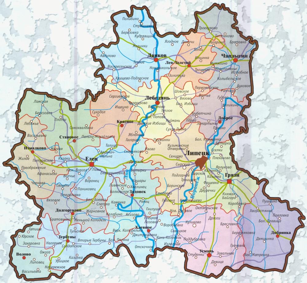 карта города липецка по фотографии новый