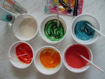 Сделать белую краску в домашних условиях