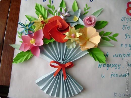 """Творческий общешкольный проект """"Подарок женщинам школы-интерната к празднику 8 марта"""""""