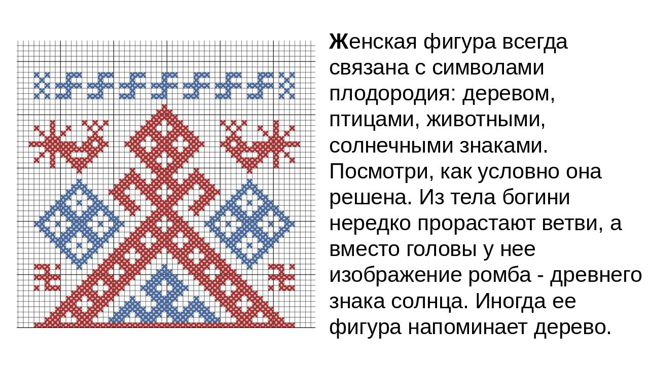 Славянская вышивка символ 44