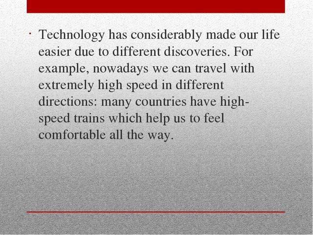 technology has changed our lives essay  how has technology affected your life essay sample  how technology has changed our lives  –how.