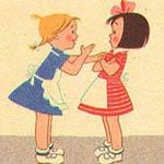 Девочка болтушка в картинках