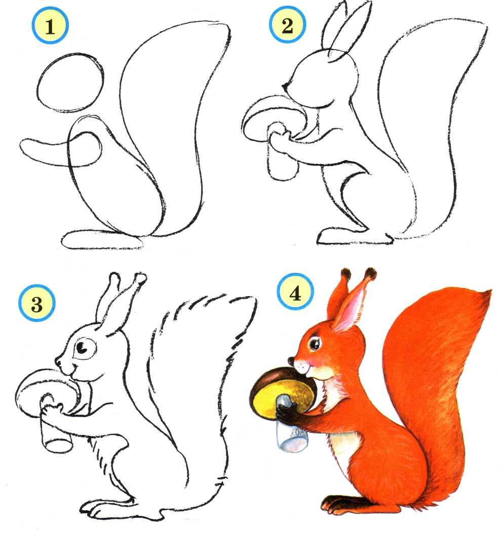 Как рисовать схему в 1 классе