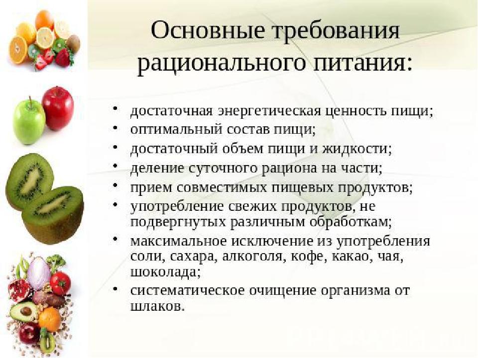 Биохимические основы питания реферат
