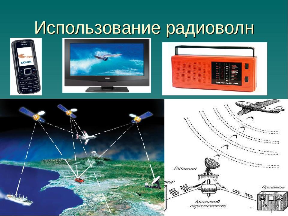 Использование радиоволн
