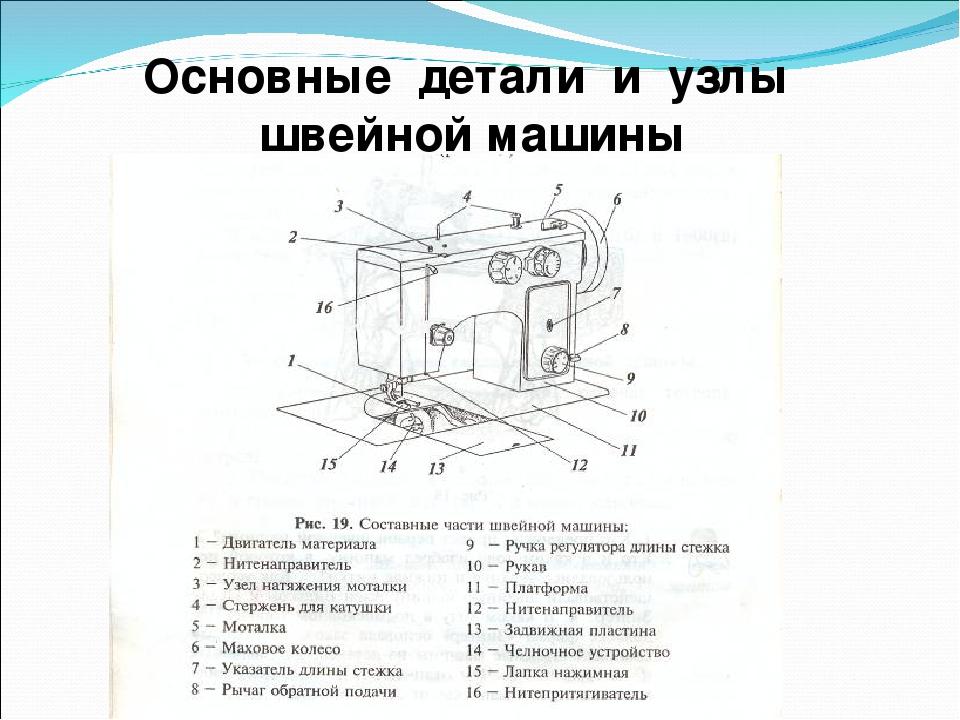маховое колесо швейной машины это